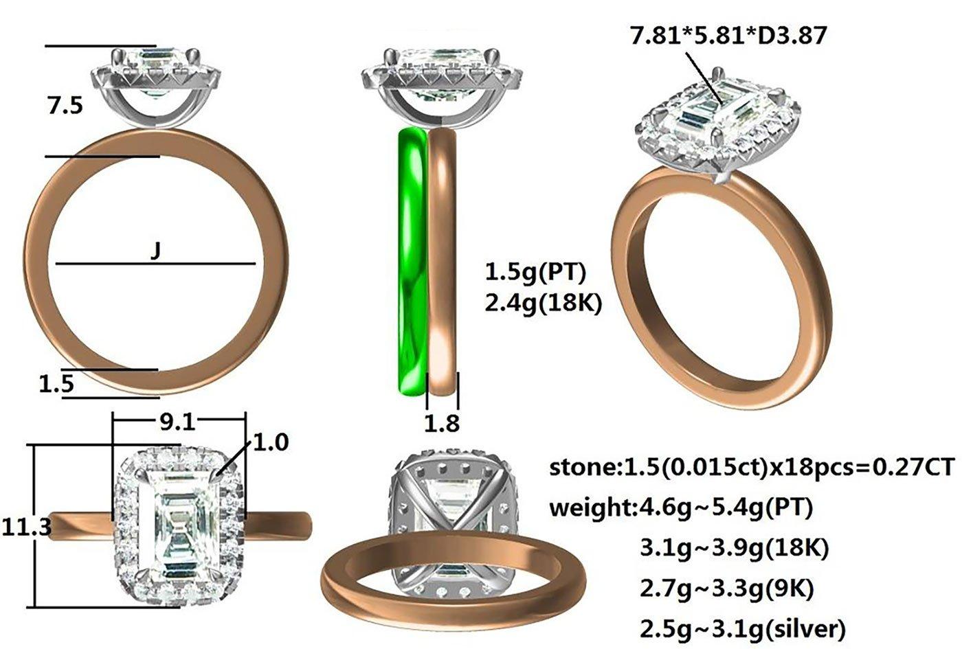 Custom Wedding Ring Sydney Chilton's Antiques